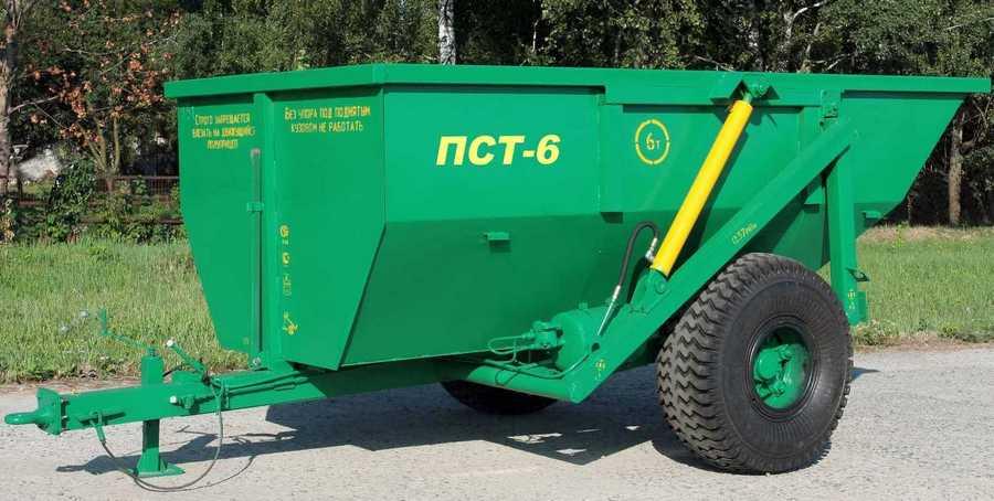 Прицеп тракторный ПСТ-6