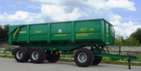 Tractor trailer PST-24